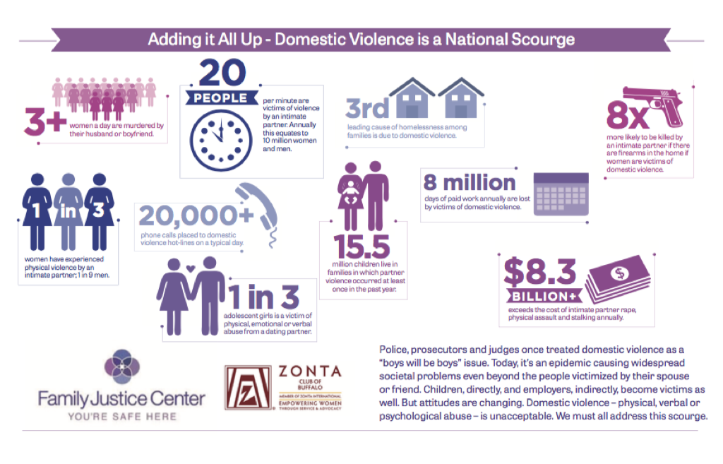 the domestic violence towards women in the untied states In the united states, according to the bureau of justice statistics in 1995 women  reported a six times greater rate of.
